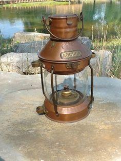 Vintage Ship Lantern. $250.00, via Etsy.