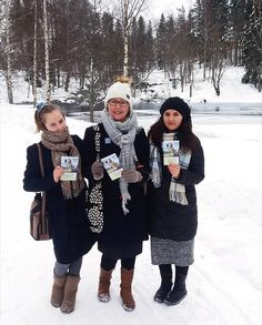 Sharing in the ministry in Finland. Photo shared by @vippe.anita