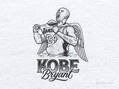 Kobe Bryant Tribute Portrait Illustration designed by Scotty Russell. Connect with them on Dribbble; Tattoo Stencils, Stencil Art, Stenciling, Kobe Bryant Tattoos, Basketball Wives La, Cool Forearm Tattoos, Awesome Tattoos, Sketch Tattoo Design, Tattoo Designs