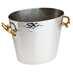 Godinger Silver Art Co Natura Wine Bucket