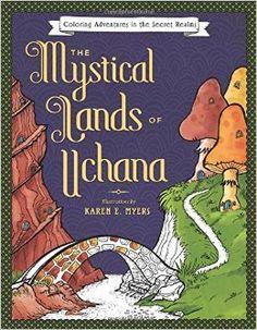The book I am coloring :) #LandsofUchanda #Uchana #Coloring #ColoringBook #Prismacolor