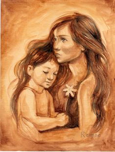 mother_and_daughter_by_melissa_rei