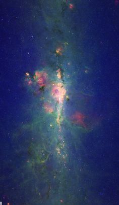 Blue Nebula fabric