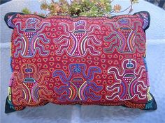 Panamanian Mola Pillow...