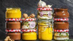 Jedlé dárky hotové za 10 minut? Domácí nugeta, hořčice i naložený sýr! - Proženy Korn, Chutney, Frittata, Pickles, Cucumber, Salsa, Brunch, Food And Drink, Snacks