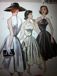 Reissued vintage pattern 1952  rockabilly party by BOBBYPINQUEEN