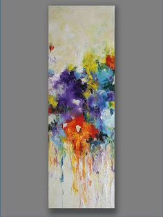 Original Oil Painting Joy Abstract Painting Modern by mgotovac, $129.00