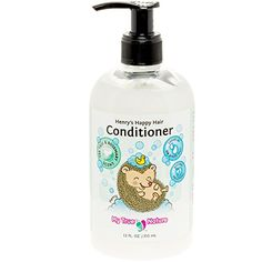 My True Nature Henrys Happy Hair Conditioner  RosemaryTea Tree  12 oz ** See this great product.