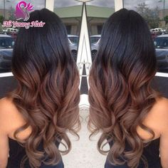 68.06$  Buy now - http://ali92e.worldwells.pw/go.php?t=32706259241 - T1B/4 Ombre Glueless Full Lace Wigs for Black Women Virgin Brazilian Lace Front Wig with Baby Hair Two Tone Color U Part Wig