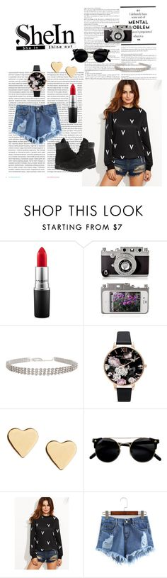 """""""Untitled #72"""" by brianna-miller-bts-army ❤ liked on Polyvore featuring Oris, MAC Cosmetics, Humble Chic, Olivia Burton, Lipsy and Timberland"""