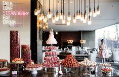 2018 딸기뷔페 일정 가격 총정리 Strawberry, Restaurant, Ceiling Lights, Candles, Wattpad, Drinks, Home Decor, Drinking, Beverages