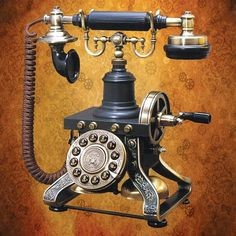 Steampunk Telephone. Yes!! $112 pre-order.