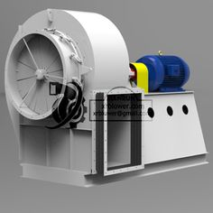 High Capacity Single Suction Fans for Cement Plant, centrifugal fan