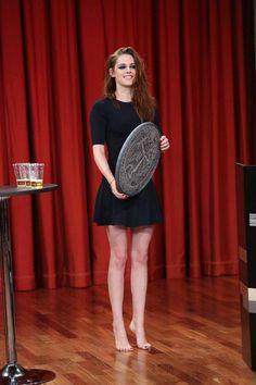 "☺ Kristen Stewart - ""Late Night with Jimmy Fallon"""