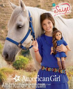 Saige,american girl of the yearNew Catalog