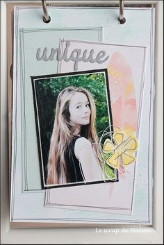 Histoire de cheveux!   MANOUSCRAP Mini Albums, Polaroid Film, Cover, Scrapbooking, Image, Art, Ikea Frames, Minis, Hair