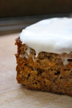 Homestyle Lowfat Carrot Cake