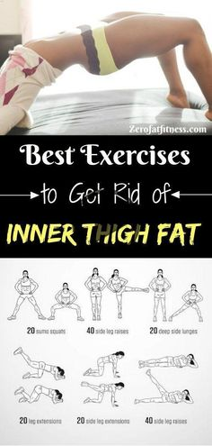 Best Thigh Fat Workouts to lose inner thigh fat, hips, and tone legs at home. Th… Best Thigh Fat Workouts to lose inner thigh fat, hips, and tone legs at home. These exercises will reduce thighs and hips fast in 7 days. Fitness Workouts, Easy Workouts, Fitness Tips, Fitness Motivation, Yoga Fitness, Fitness Quotes, Fitness Bodies, Fitness Men, Health Fitness