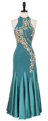 Sizes 0, 2, 4   Smooth & Standard Dresses   Encore Ballroom Couture