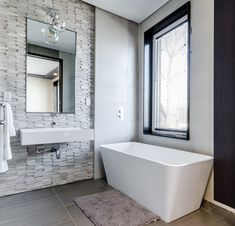Are you a fan of classy and minimalist interiors? Then these gray and white bathroom design ideas are just for you! Give your bathroom a makeover with these dazzling and charming design ideas. Small Space Bathroom, White Bathroom, Modern Bathroom, Small Bathrooms, Small Spaces, Modern Sink, Minimal Bathroom, Bathroom Vintage, Master Bathrooms