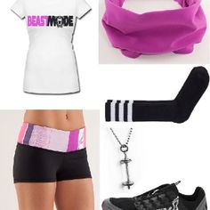 CrossFit outfit..i might hav to do crossfit just for the clothes lol
