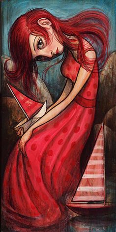 """Sailboats"" par Kelly Vivanco"