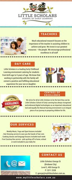 Little Scholars early learning centres believe in making a difference. Our family owned and operated boutique centres offer quality care at affordable rates, with skilled educators and premium facilities to meet the needs of every Little Scholar. Learning Centers, Early Learning, Childcare, Early Childhood, Investing, Preschool, Encouragement, Teacher, Student