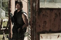 """The Walking Dead S4 Norman Reedus as """"Daryl Dixon"""""""