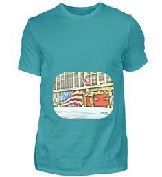 Amerikanische Feuerwehr T-Shirt Mens Tops, Fashion, Cotton, Moda, Fashion Styles, Fasion