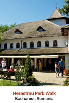 Herastrau Park is where Bucharest's residents come to relax, especially during the summer.Spend some time in the Dimitrie Gusti National Village Museum, an open-air ethnographic museum that explores traditional Romanian village life.