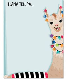 """Everytime I start a new unit, and students are excited to learn something new, imma say """"Llama tell ya. Classroom Signs, Preschool Classroom, Classroom Themes, Llama Arts, Llama Llama, Alpacas, Llama Decor, Alpaca My Bags, Creative Teaching Press"""