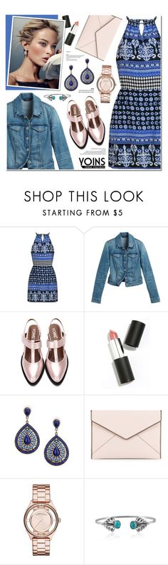 """""""Yoins 11"""" by anyasdesigns ❤ liked on Polyvore featuring White House Black Market, Sigma Beauty, Rebecca Minkoff, Marc by Marc Jacobs, yoins, yoinscollection and loveyoins"""