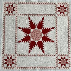 Sue Daurio's Quilting : Chris's mini's pack some big personality! Modern Quilt Blocks, Star Quilt Blocks, Star Quilt Patterns, Star Quilts, Mini Quilts, Machine Quilting Designs, Quilting Projects, Quilting Ideas, Snowflake Quilt