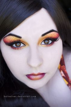 Tiger Lily http://www.makeupbee.com/look_Tiger-Lily_43395