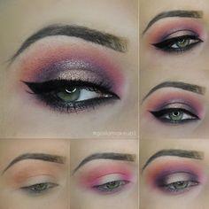 Tropical Glam Makeup @gosiamakeup1   VISIT SITE FOR FULL TUTORIAL + PRODUCT LIST  #spring #summer #greeneyes #eyes #blueeyes #brows #wingedeyeliner #browsonfleek #makeuptutorial #howto #glam #eveningmakeup #makeup #mua #shimmer