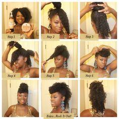 hair hair braids Tips for Airdrying Relaxed Hai Cabello Afro Natural, Pelo Natural, Natural Hair Tips, Natural Hair Styles, Natural Mohawk, Natural Oil, Curly Mohawk, Natural Updo, Going Natural