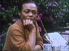 """From the 1982 documentary """"All by Myself: The Eartha Kitt Story"""". Need to watch the full doc!"""