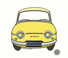 PANHARD PL17 T-SHIRT Choice of car colors DTG by WheelsAllOver