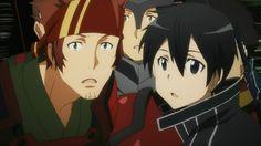 Kirito & Klein (Sword Art Online)