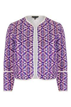 Jacquard Embroidered Jacket