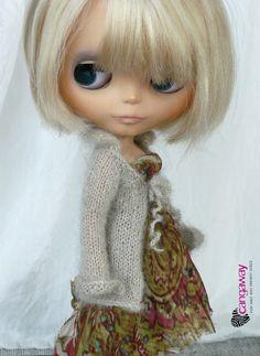 Blythe cardigan beige by Cangaway on Etsy, $32,00