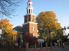 Christ Church in Alexandria, Virginia--beautiful old church attended by the likes of George Washington, Robert E. Lee, FDR, and even Winston Churchill visited while he was in the USA (slj)