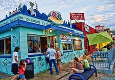Amy's Ice Creams SoCo - This is where I work! and its on pinterest! and I love it.