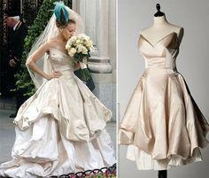 Fashion Assistance: El vestido de novia de Carrie Bradshaw, diseñado por Vivienne Westwood, de rebajas