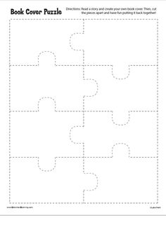 Book Cover Puzzle from Lakeshore Learning: Read a story and create your own book cover. Then, cut the pieces apart and have fun putting them back together!