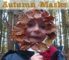 let the children play: Things to do with leaves.