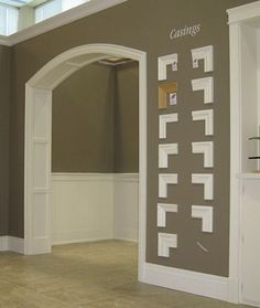 1000 Images About Curved Arch Doorway On Pinterest