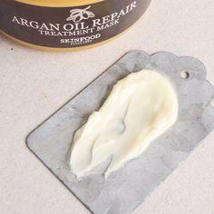 SKINFOOD Argan Oil Repair Plus Treatment Mask - Soko Glam