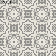"""Cassis 8"""" Cement Tile - Cliffe"""