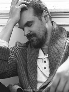 David Harbour por Nick Heavican para DAMAN Magazine